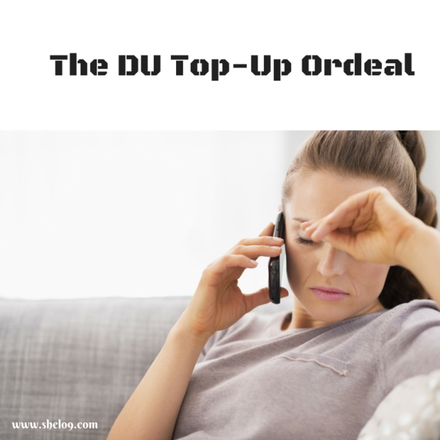 151119 The DU Top-Up Ordeal